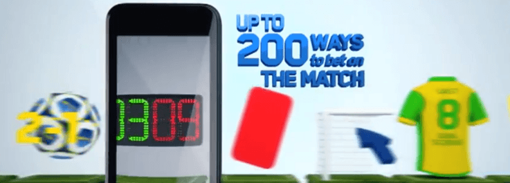 The William Hill Mobile Betting Ad